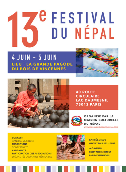 Affiche Festival Nepal 2016
